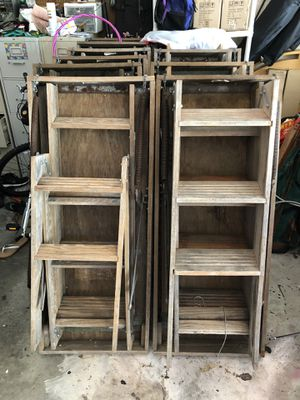 Garage Attic Ladders. 8foot and 10ft. 8-$25. 10-$35 for Sale in Alafaya, FL