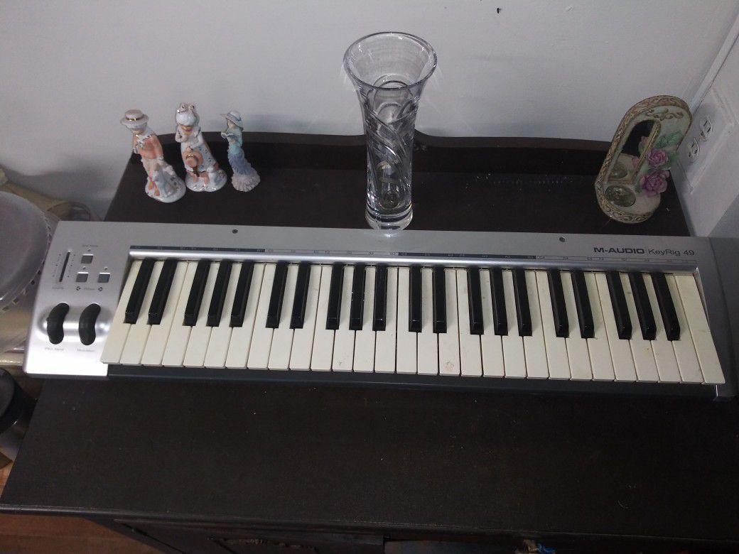 M-Audio Keyrig 49 MIDI keybord. beatmaker