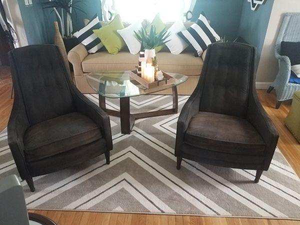 2 Mid Century Modern Accent Chairs Buffalo Ny