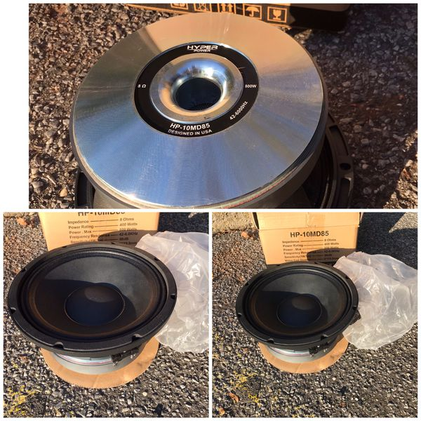 "Hyper Power 10"" Very Loud Speaker For Sale In Yonkers, NY"