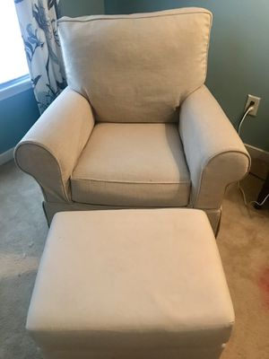 Pottery Barn Kids Comfort Swivel Glider/Ottoman for Sale in Moseley, VA