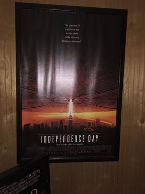 Custom framed movie posters. for Sale in Cleveland, OH