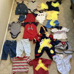 Baby Boy Clothes On Hold For Adriene (6-12M) Thumbnail