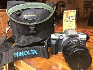 Minolta Maxxum 5 35mm Camera + Quantaray 28-90mm lens for Sale in Derwood, MD