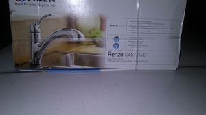 Moen Renzo Chrome Kitchen Faucet NEW IN BOX for Sale in San Jose, CA