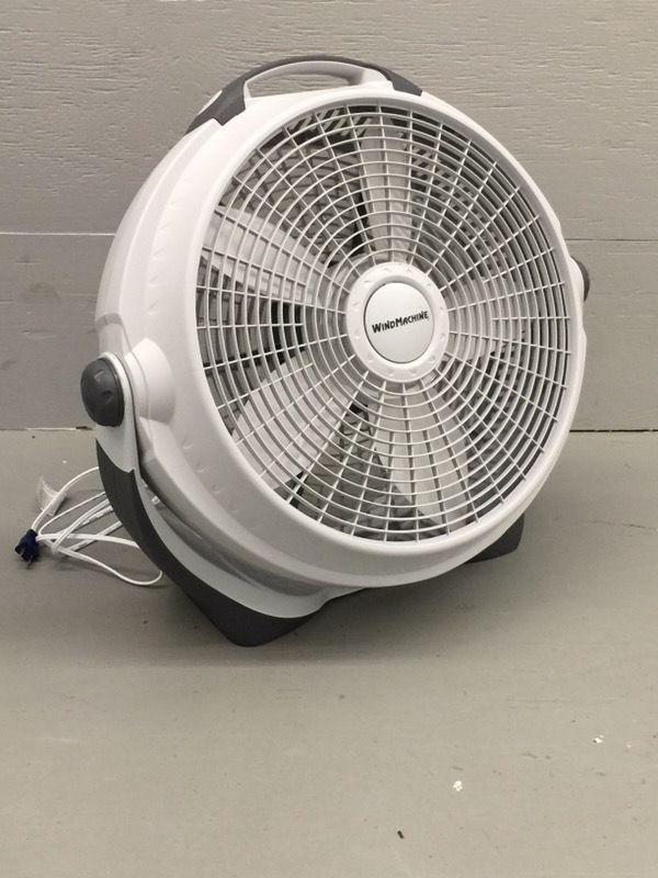 """Lasko 20"""" Air Circulator Wind Machine 3 Speed Fan"""