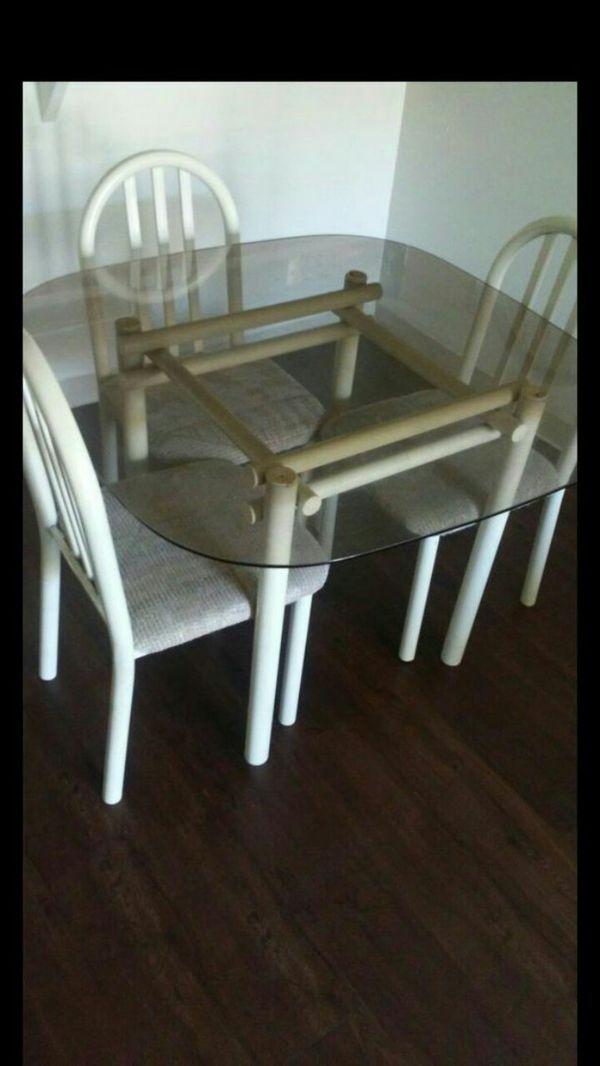 Offerup Las Vegas >> Glass Dinner Table Set Furniture In Las Vegas Nv Offerup