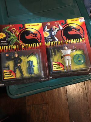 Mortal kombat action figures for Sale in Mesa, AZ