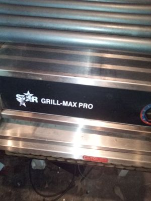 Photo Star grill max pro commercial hot dog grill