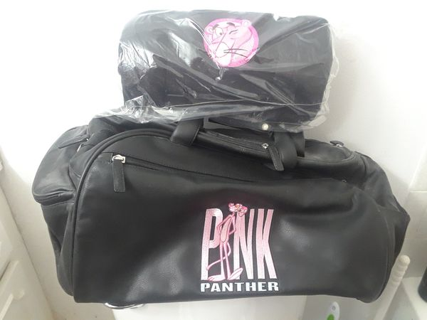 fbfdda57adc705 Pink Panther SWAG huge duffle bag and throw blanket NEW for Sale ...