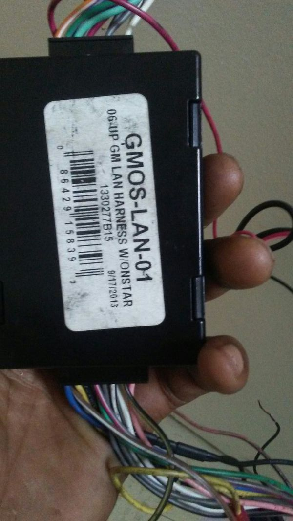 Gm wire harnest for aftermarket radio for Sale in Posen, IL - OfferUp