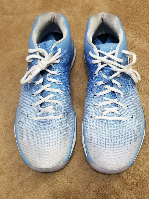6fdd298dcf58 Nike Air Jordan 31 XXXI Low UNC Tar Heels Size 9.5 Excellent! for ...