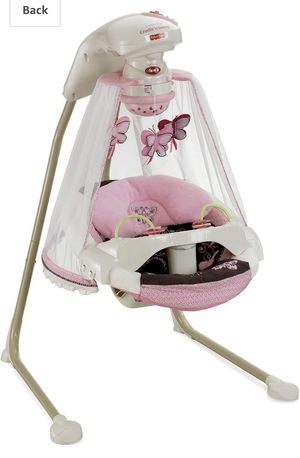 Photo Fisher-Price Butterfly Cradle n' swing