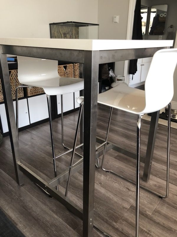 Ikea Utby Bar Table Discontinued For In Los Angeles Ca Offerup