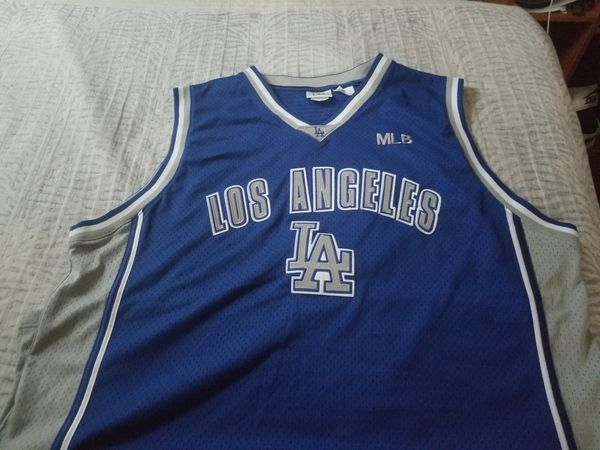 XXL Dodgers basketball jersey for Sale in Rialto 3712b2d5d74