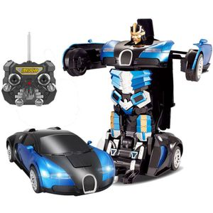 Brand new blue Bugatti transformer. Transforms from car to robot with the touch of a button for Sale in Atlanta, GA
