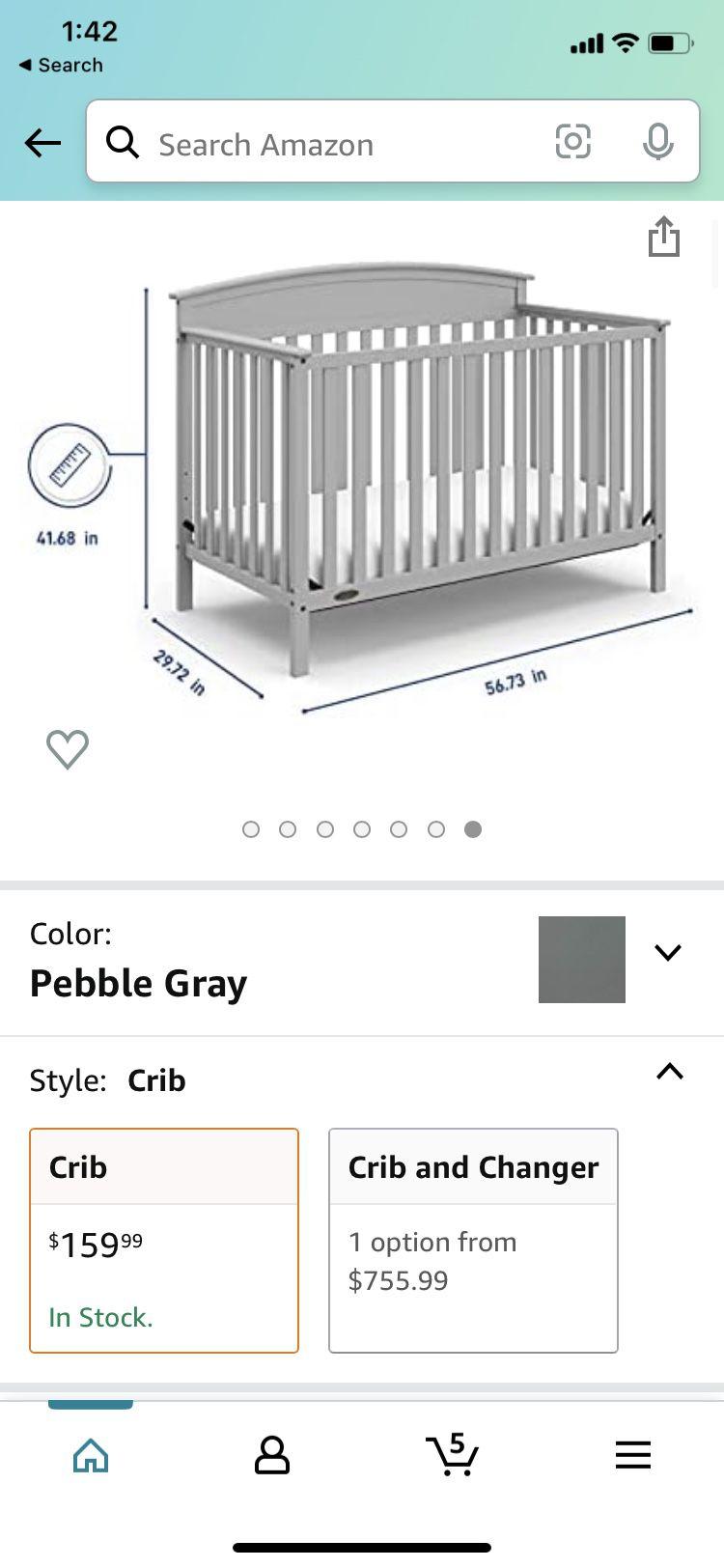Graco 4 In 1 Convertible Crib