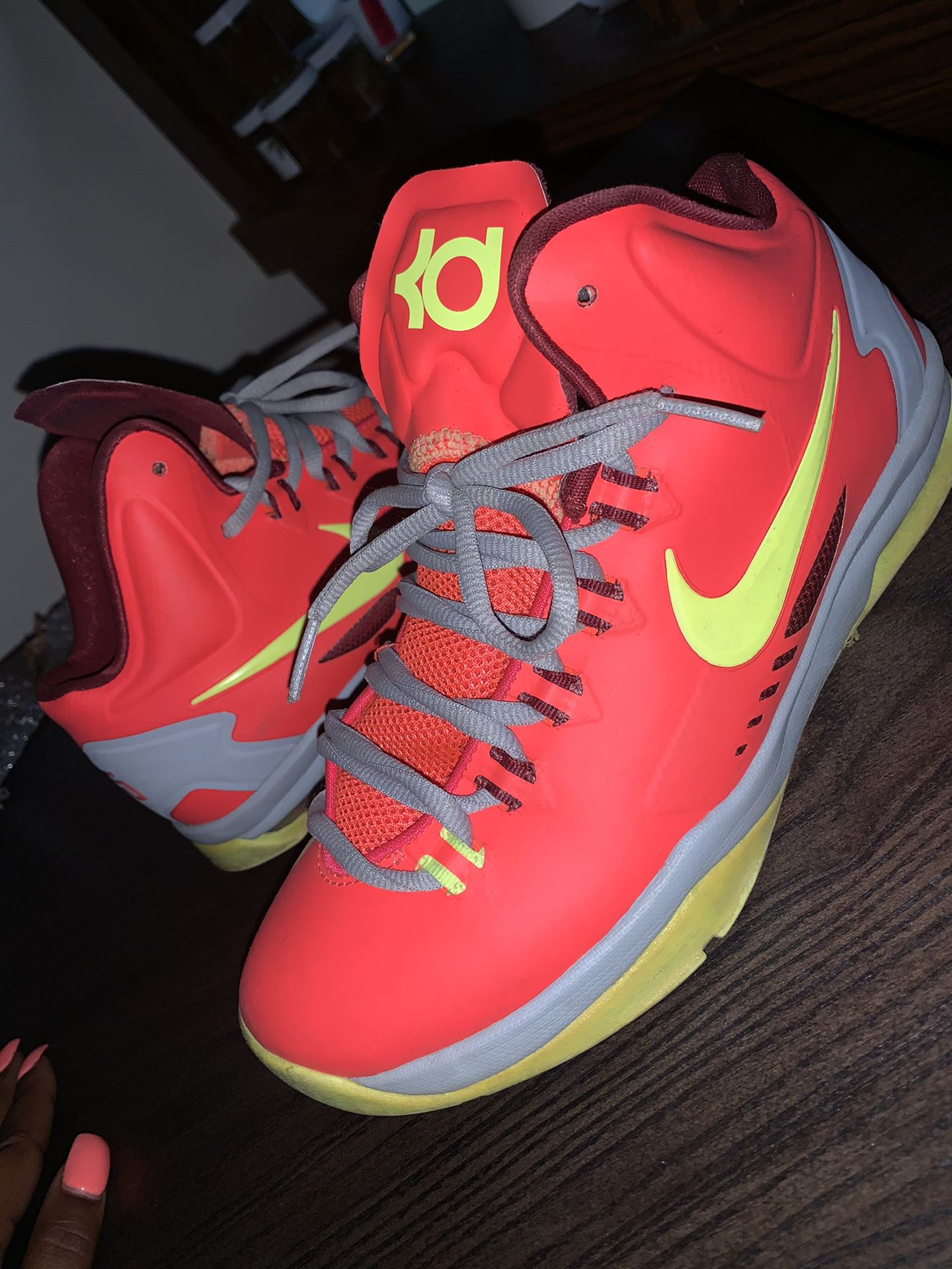 KD's Sneakers