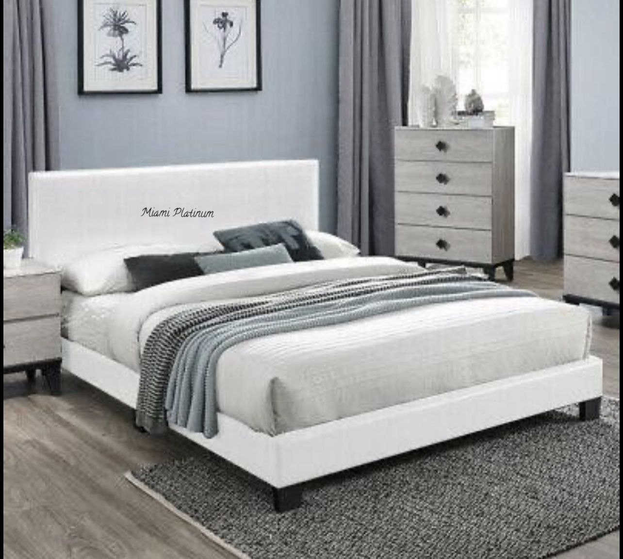 Queen Bed With Mattress /// Financing Available