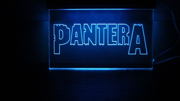 Pantera Heavy Metal Band LED Neon Sign for Sale in Dallas, TX - OfferUp