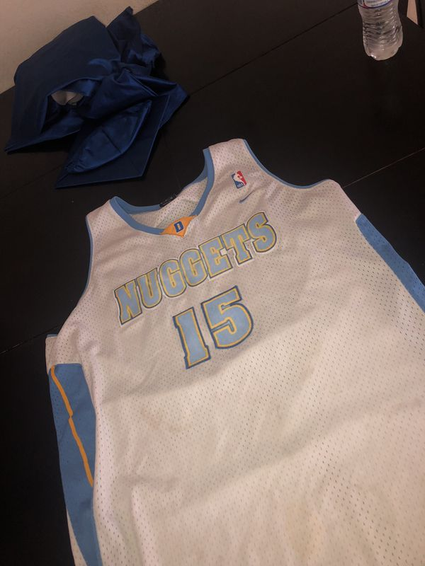 """newest 8529a 90102 Vintage """"Denver Nugget"""" Carmelo Anthony Jersey....Nike large exclusive for  Sale in Glendale, AZ - OfferUp"""