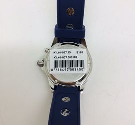 BRAND NEW  KYBOE GIANT WATCH  KY 40-037.15  BLUE SILICON BAND UNISEX SIZE Thumbnail