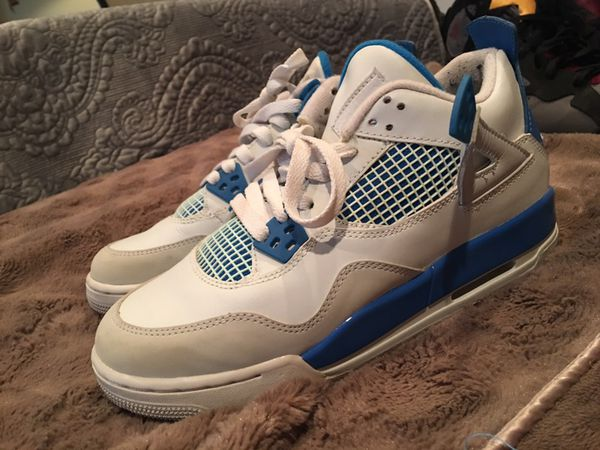 new arrival f70fd 7551b Air Jordan Military Blue 4s for Sale in San Jose, CA - OfferUp