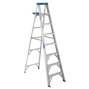 Photo Werner 8 ft. Aluminum Step Ladder