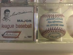 Sears 1970s ted Williams endorsed baseball with original box for Sale in Boston, MA