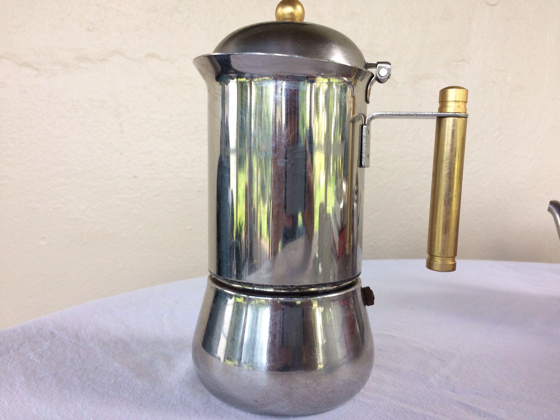 Beautiful vintage espresso/ tea set- new