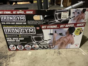 Iron Gym *total upper body* for Sale in Palmdale, CA