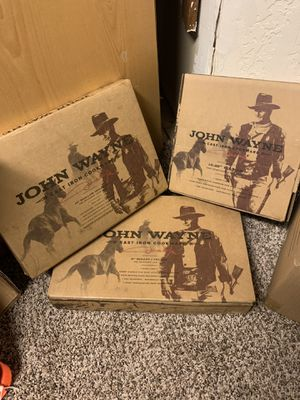 Photo John Wayne Cookware