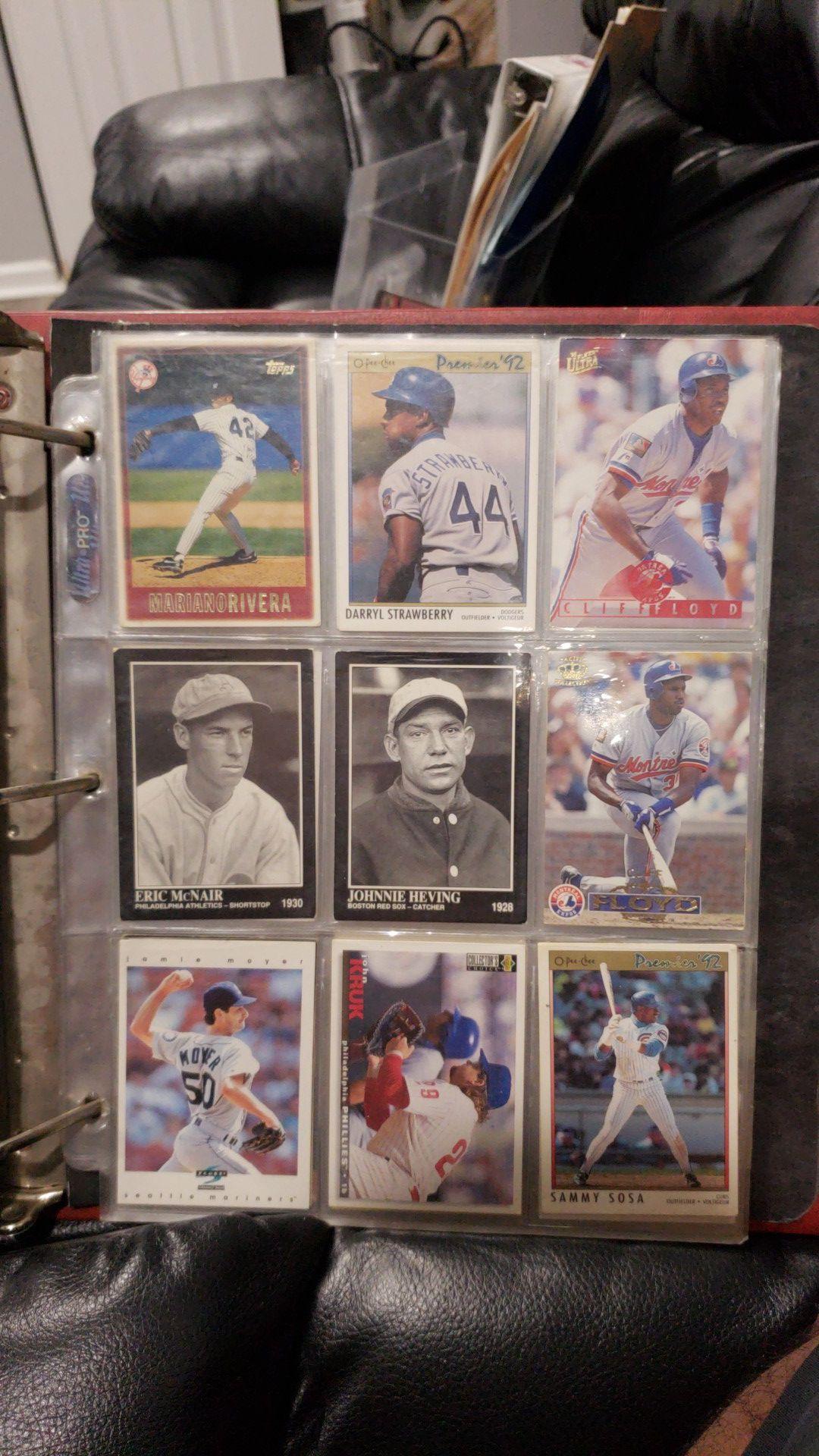 Sale or Trade Baseball, Football and Basketball Cards