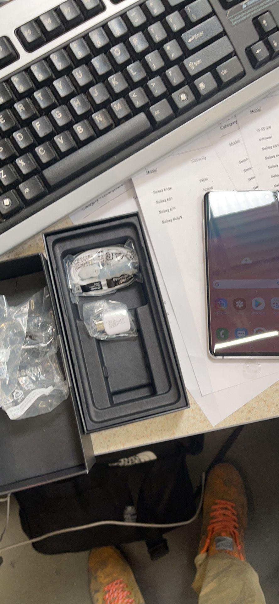 Galaxy 10 Plus Brand New