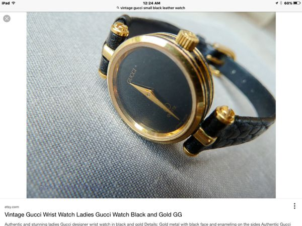 e29fa53ebd8 100% AUTHENTIC -Vintage Gucci -Ladies Watch GG....Pick up or Pay  5 shipping.  Offer up guarantees purchases