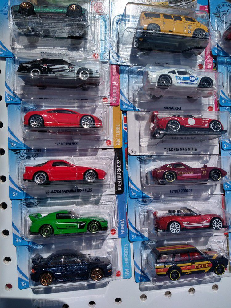 Hot Wheels $2ea Check My Page For More