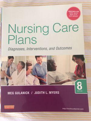 Nursing care plans 8 Ed for Sale in Alexandria, VA