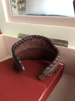 Brown lather Bracelet Thumbnail