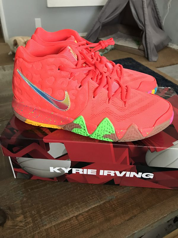 hot sale online e43f1 acad7 Kyrie 4 Lucky Charms (GS) Size 7y for Sale in Los Angeles, CA - OfferUp