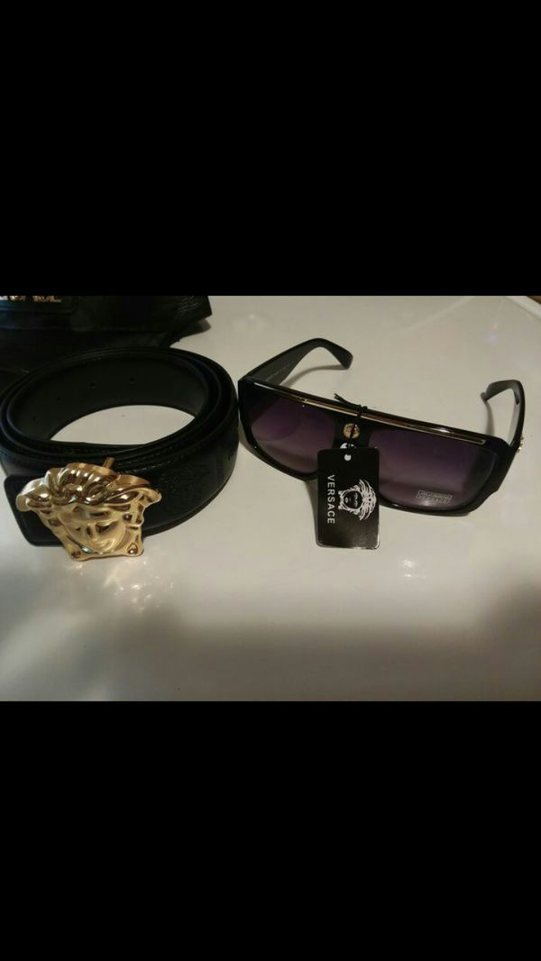 a501d6b5e574 Versace belt size 36 38 hat snapback and sunglasses (Jewelry   Accessories)  in Lancaster