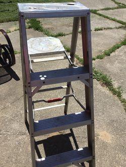 4' Aluminum Ladder Thumbnail