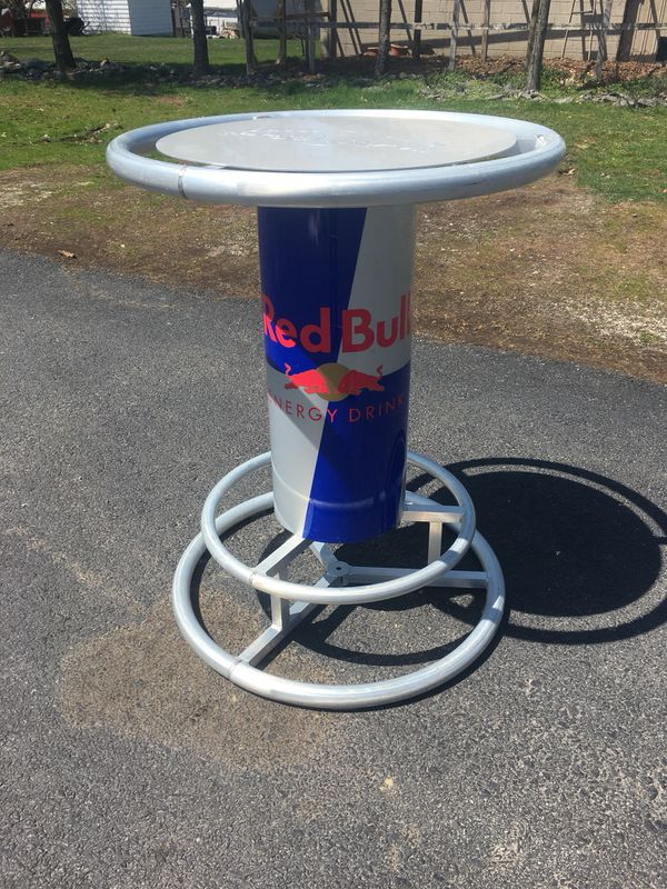 Red bull aluminum pub bar table for sale in wellsville pa offerup watchthetrailerfo