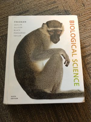 Pearson Biological science: Freeman,Quillin, Allison, Black, Podgorski,Taylor 6th Edition for Sale in Portland, OR