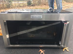 KitchenAid - 1.9 Cu. Ft. Convection Over-the-Range Microwave with Sens for Sale in Gaithersburg, MD