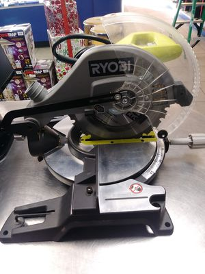 "Ryobi 14 Amp 10"" Compound Mitre Saw for Sale in Kissimmee, FL"