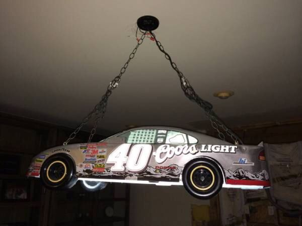 Rare NASCAR Coors Pool Table Light For Sale In Tacoma WA OfferUp - Nascar pool table light