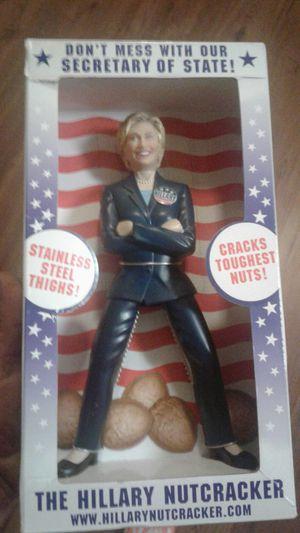 Hillary nut cracker for Sale in Austin, TX