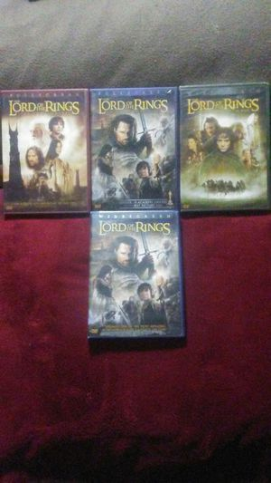 LORD OF THE RINGS,Trilogy,+1 for Sale in Boston, MA