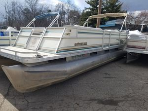 New And Used Pontoon Boat For Sale In Lansing Mi Offerup