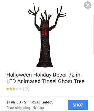 2 Halloween Trees - 6' Tall for Sale in Goodyear, AZ